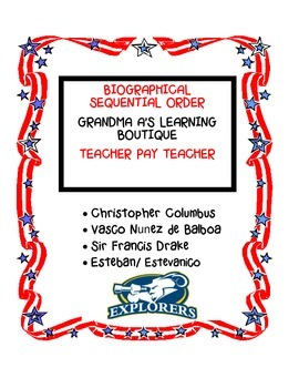 Biographical Sequential Order