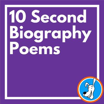 10 Second Biography Poems for MLK, Jr. Day and Black Histo