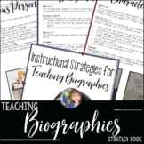 BIOGRAPHY TEACHING IDEAS