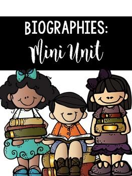 Biographies: A Mini Unit