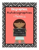 Biographies, Autobiographies, and Memoirs
