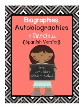 Biographies, Autobiographies, and Memoirs {Spanish version}