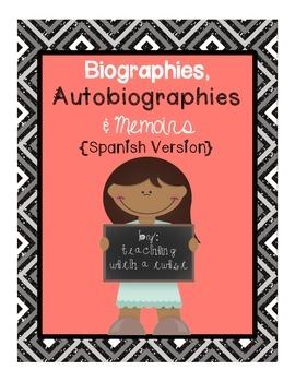 Biographies, Autobiographies, and Memoirs {Spanish version}