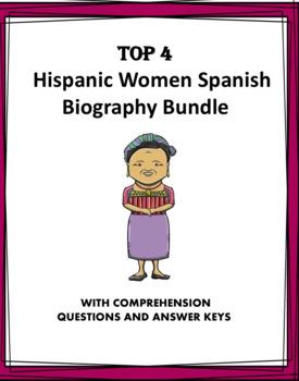 Biographies Famous Hispanic Women  Biografías de Latinas (Kahlo, Perón, Menchú)