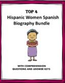 Biographies Bundle Hispanic Women - 4 Biografías!
