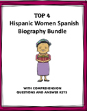 Spanish Biography Bundle: Top 4 Women - Biografías! (Kahlo, Evita, Menchú)