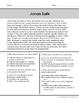 Biographies Short Reading Passages