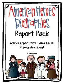 Biographies Report Pack