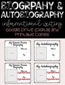 Biographies and Autobiographies