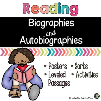 Biography And Autobiography Worksheets Teaching Resources