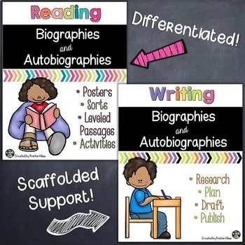 Biographies and Autobiographies: Reading & Writing Activit