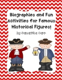 Informational Biographies and Fun Activities with Historical Figures!
