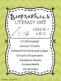 Biographies and Timelines Literacy Unit