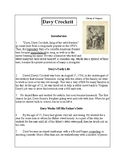 Biographies of Famous Americans-Davy Crockett