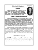 Biographies of Famous Americans-Elizabeth Blackwell