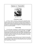 Biographies of Famous Americans-James A. Naismith