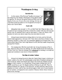 Biographies of Famous Americans-Washington Irving