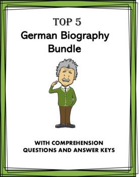 German Reading Bundle: Biographies of 6 Germanic People!