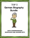German Reading Bundle: Biographies of 5 Germanic People!