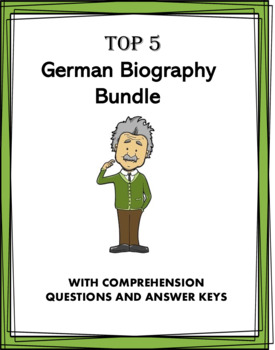 German Reading Bundle: Biographies of 5 Germanic People!