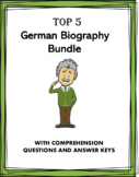 German Reading Bundle: Biographies of 5 Germanic People at 35% off!