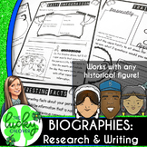 Biographies | Biography Project Template | Biography Writing