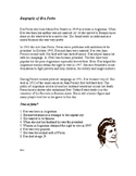 Biographies of Famous Latin People ~Easy reading for ESL/EFL