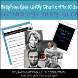 Biographies with ChatterPix Kids App