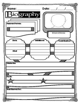 Biography Graphic Organizer (2)