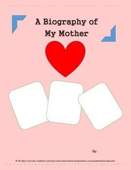 Biography - A Mother's Day Memoir (HANDOUT)