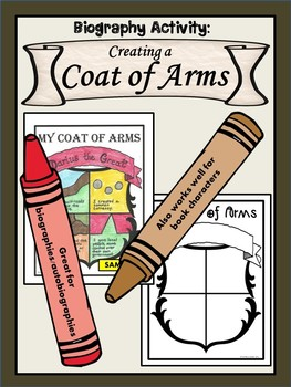 Biography Activity: Creating a Coat of Arms