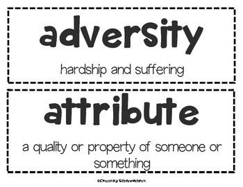 Vocabulary Cards-Biographies/Autobiographies (State-Testing Vocabulary)