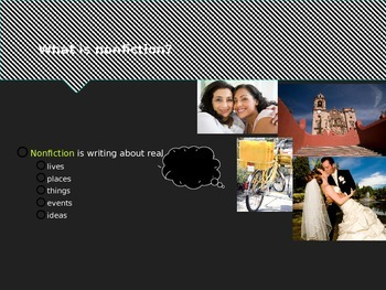 Biography, Autobiography and Memoir Powerpoint