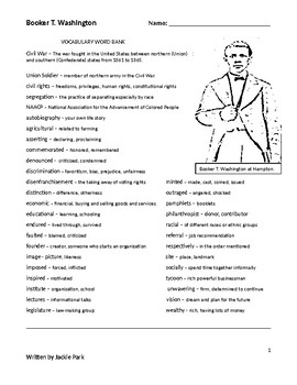 Booker T. Washington coloring page | Free Printable Coloring Pages | 350x270