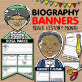 Biography Banners / Pennants - Black History Month