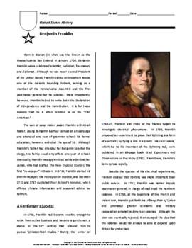 Biography: Benjamin Franklin