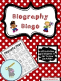 *Back to School* Biography Bingo