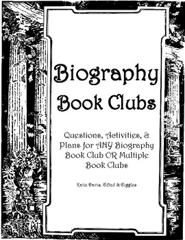Biography Book Clubs for ANY Biography