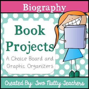 Book Project: Biography Genre Choice Board