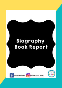what are the parts of a book report