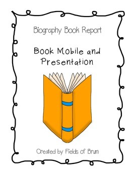 Biography Book Report --CCSS Aligned--