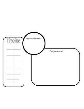 Biography Book Report Guidelines & Template