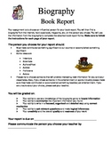 Biography Book Report Project by Liz Smith