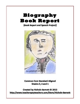 biography book report questions Seventh grade biography/autobiography book report requirements for the report in the genre of nonfiction, you will read a biography or autobiography of the.