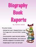 Biography Book Reports