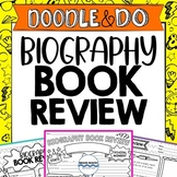Biography Book Review, Biography Project, Doodle Book Repo