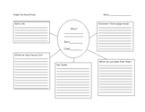 Biography Brainstorming Template
