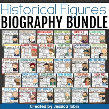 Biography Bundle- Influential People