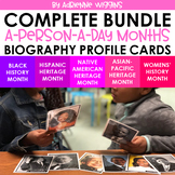 Biography Card Bundle (Daily Routine)