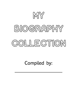 Biography Collection Journal